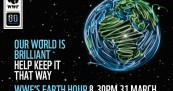 Earth Hour for a Brilliant World