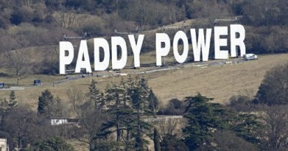 Paddy Power World's Largest Ad