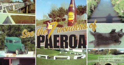Visit Paeroa with Colin and Maurice