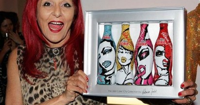 Diet Coke Recycled Bag Designed by Patricia Field