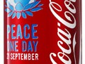 Coca Cola Can for Peace One Day