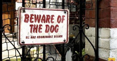 Pedigree Beware of the Dog Problems