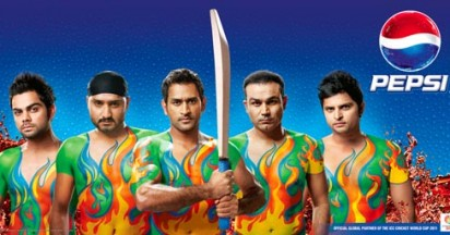 Pepsi Change the Game of World Cup Cricket