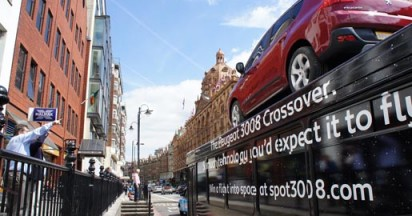Peugeot 3008 Crossover Could Fly