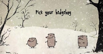 Singing Christmas Hedgehogs