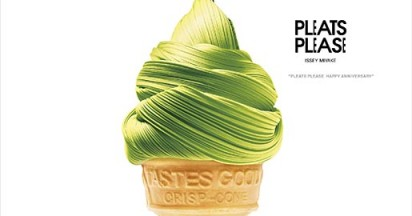 Issey Miyake Pleats Please looks delicious