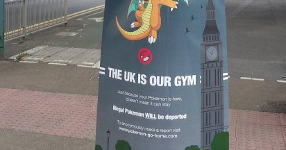 Pokemon Go Home Posters Appear