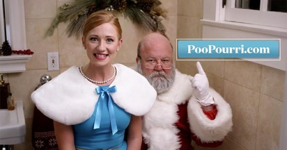 Poo Pourri for Santa Claus