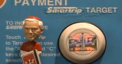 Metro Bobblehead Pope In Red