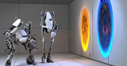 Portal 2 with Atlas and P-Body