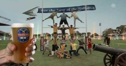 Tooheys New Post Try Celebrations