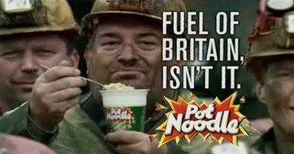 Pot Noodle Mines Fuel Of Britain