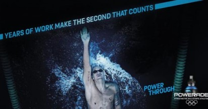 Powerade Power Through for Olympics