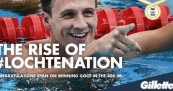 Gillette Backs Ryan Lochte