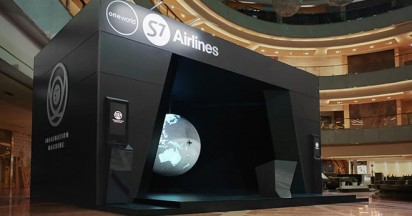 S7 Airlines Imagination Machine