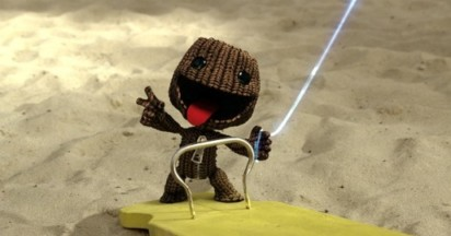 LittleBigPlanet Sackboy on PSP
