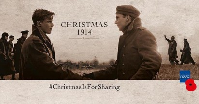 Sainsbury's Christmas is for Sharing in 1914