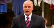Sam Kekovich in Vote Lamb Campaign