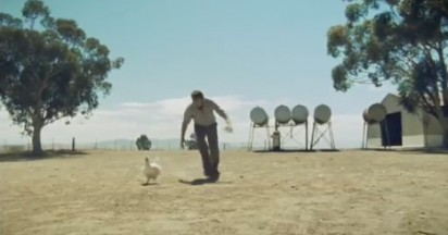 Sam Neill on Chasing Chicken