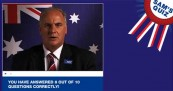 Sam Kekovich Hosts UnAustralian Citizenship Test