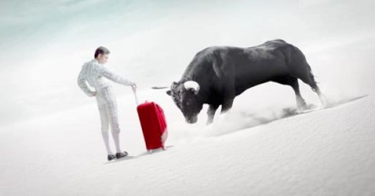 Samsonite Bull Fight