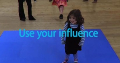 Samsung Use Your Influence with Cute Dance