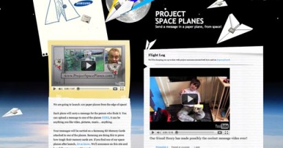 Samsung Project Paper Planes