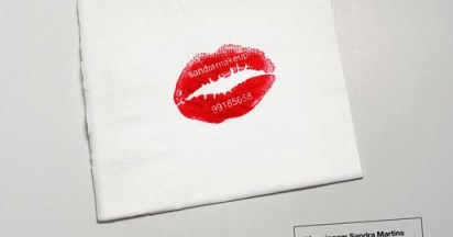 Sandra Martins Makeup Kiss Card