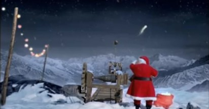 Coca Cola Shooting Stars for Christmas