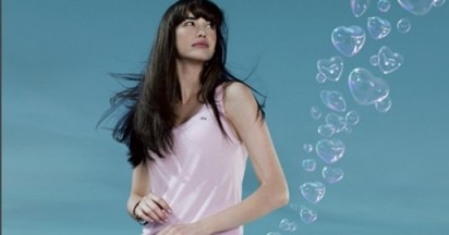 Lacoste Love of Pink in Heart Bubbles