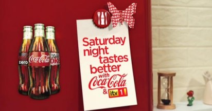 ITV Saturday Night Tastes Better with Coca Cola