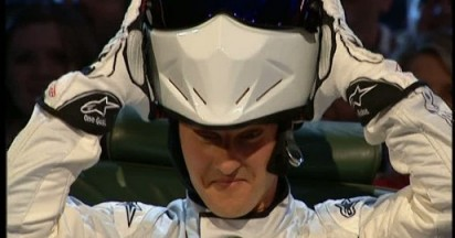 Schumacher in Drink Driving Simulation