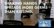 Science World Kisses In Boardroom