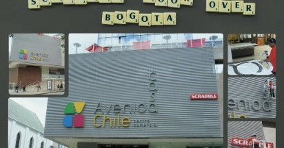 Scrabble Took Over Bogota