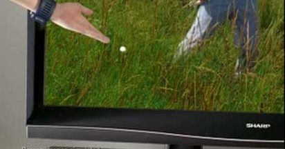 Sharp Aquos Lost Golf Ball