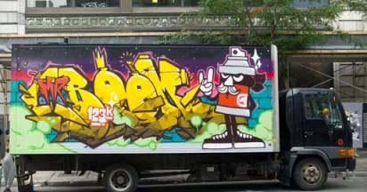 Ecko Unltd Graffiti Trucks