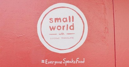 Everyone Speaks Food at Small World