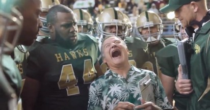 Snickers Coach Robin Williams