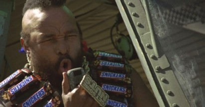 Snickers and Mr T Get Some Nuts