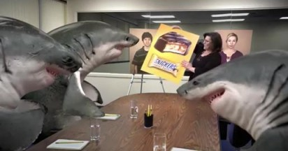 Snickers Sharks in Peanut Butter Squared Focus Group