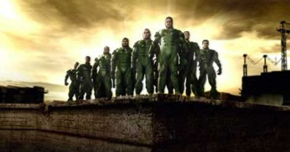 Sasol Springboks as Super Heroes