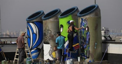 Sprite Graffiti Cans Refresh Your Ideas