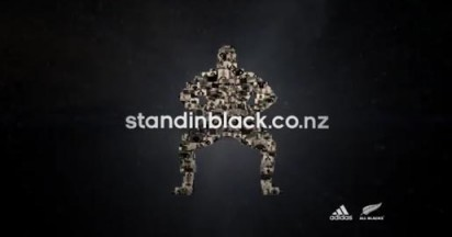 Adidas All Blacks Stand in Black