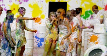 Starburst Colour Fight at Camp Quality