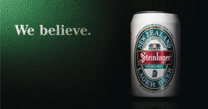 Steinlager We Believe