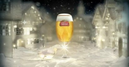 Stella Artois Dove Crafted For Christmas