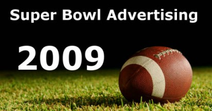 Super Bowl Ads in 2009