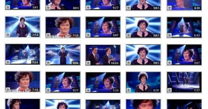 Susan Boyle Memories Live on YouTube