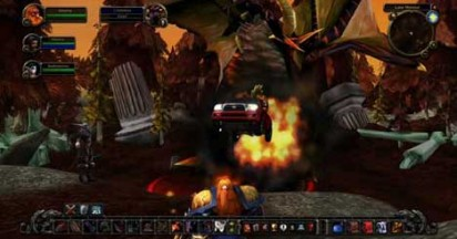 Toyota Tacoma in World of Warcraft