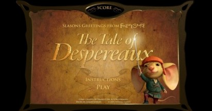 Framestore Tale of Despereaux Game